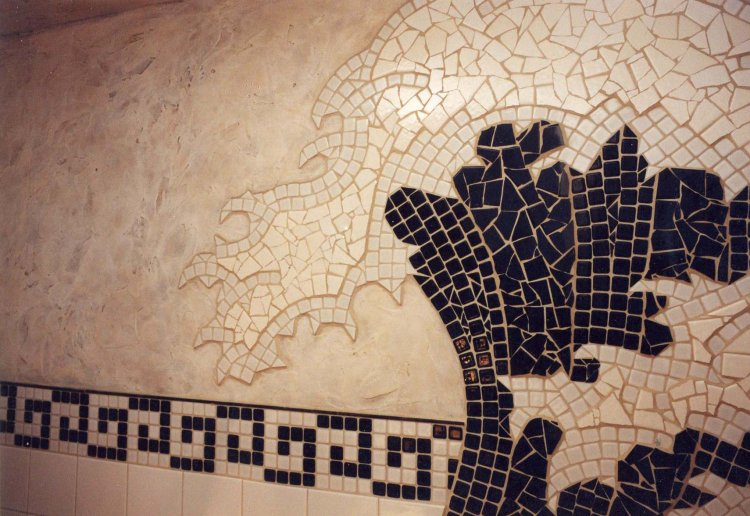Moonshine Mosaics · Great Wave